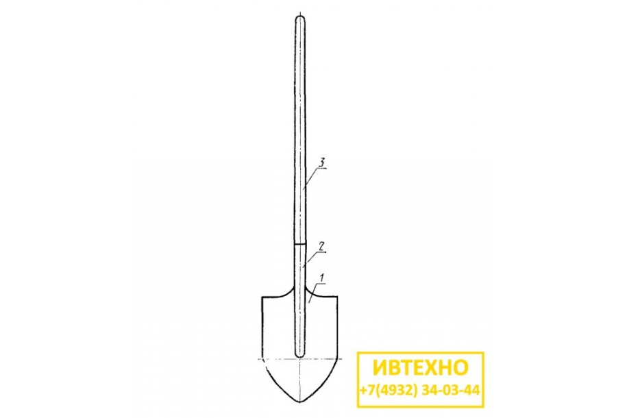Лопаты ГОСТ 19596-87