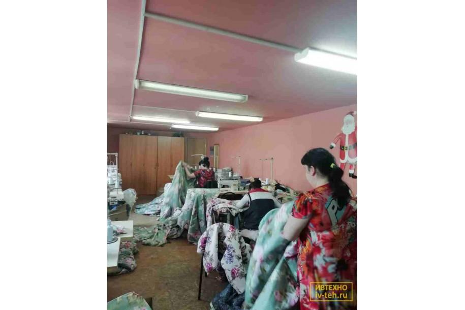 Пошив постельного белья для рабочих