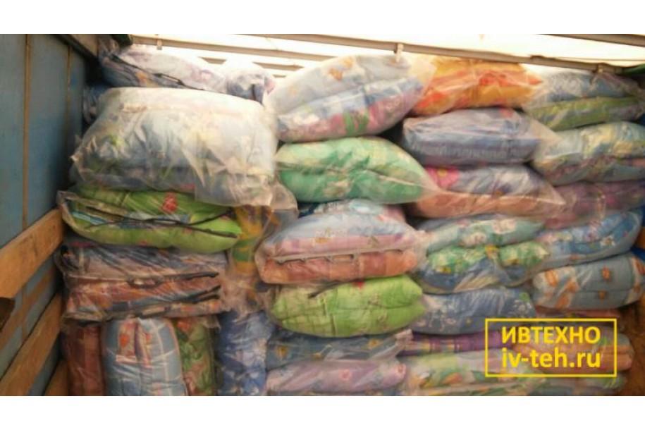 Производство недорогих подушек для рабочих