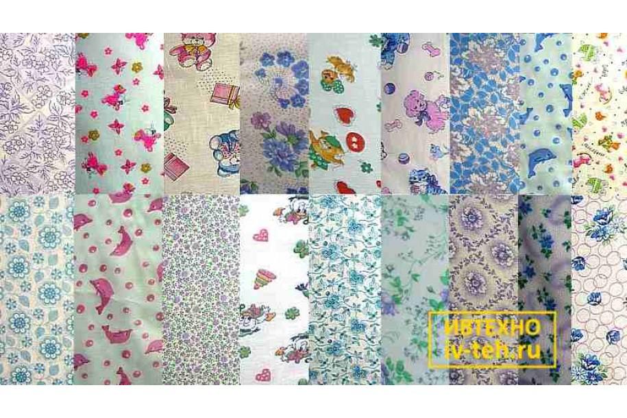 Ткань ситец – недорогой материал по оптовой цене