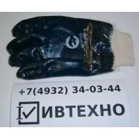 Перчатки нитриловые манжет