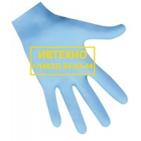 Перчатки смотровые нитриловые неопудренные