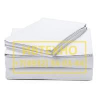 Белое постельное белье бязь