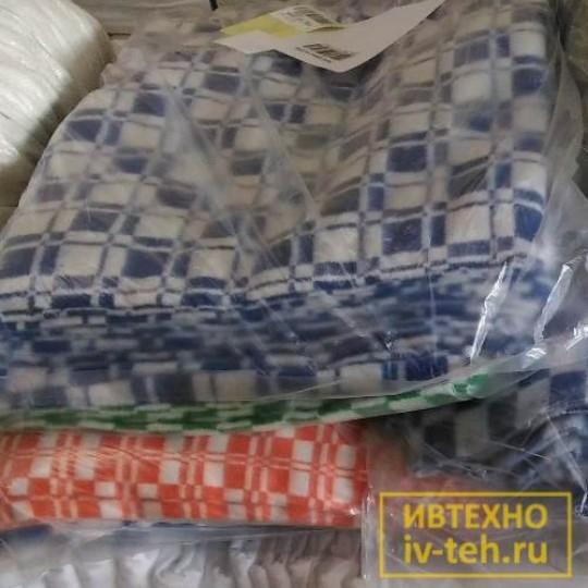 Купить одеяло байковое 1.5 сп. оптом в Москве и Иваново