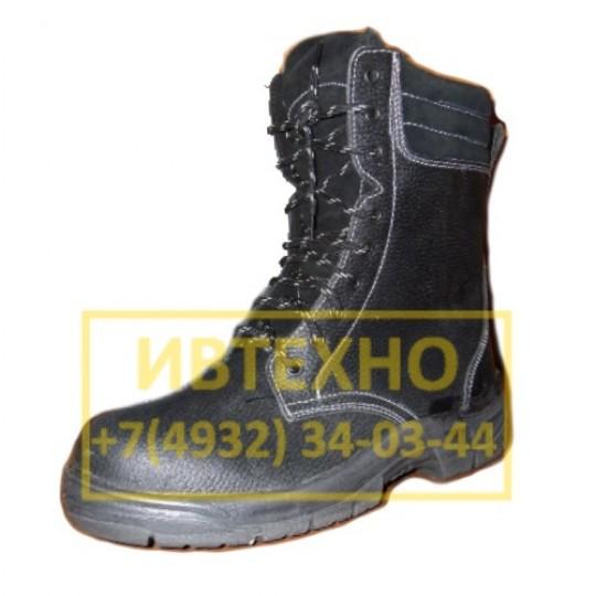 Купить кожаные ботинки с высоким берцем по ценам производителя оптом