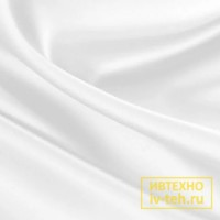 Ткань сатин белый