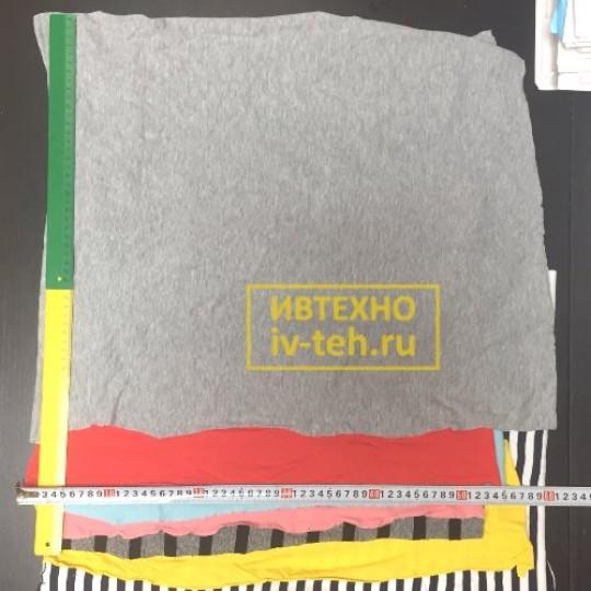 Купить трикотажный лоскут оптом на вес в Иваново