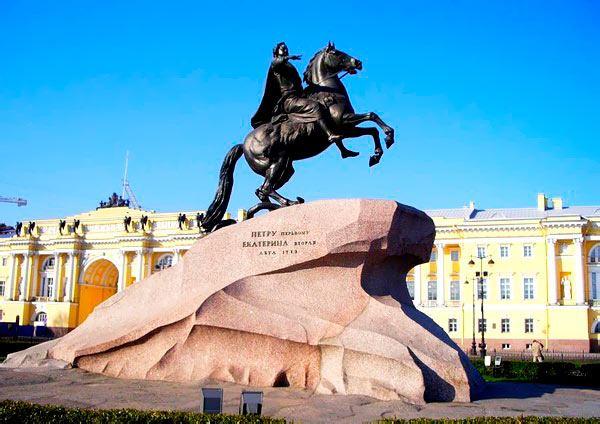 Медный всадник в СПб